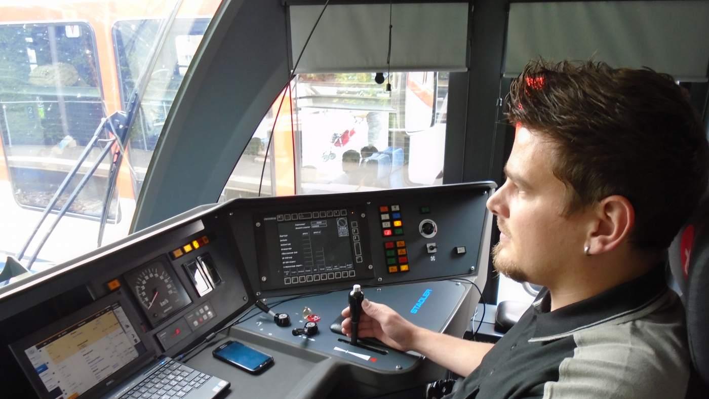 Lokführer der Zentralbahn
