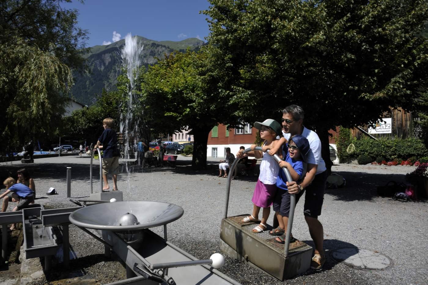 Wasserspiele Brienzersee