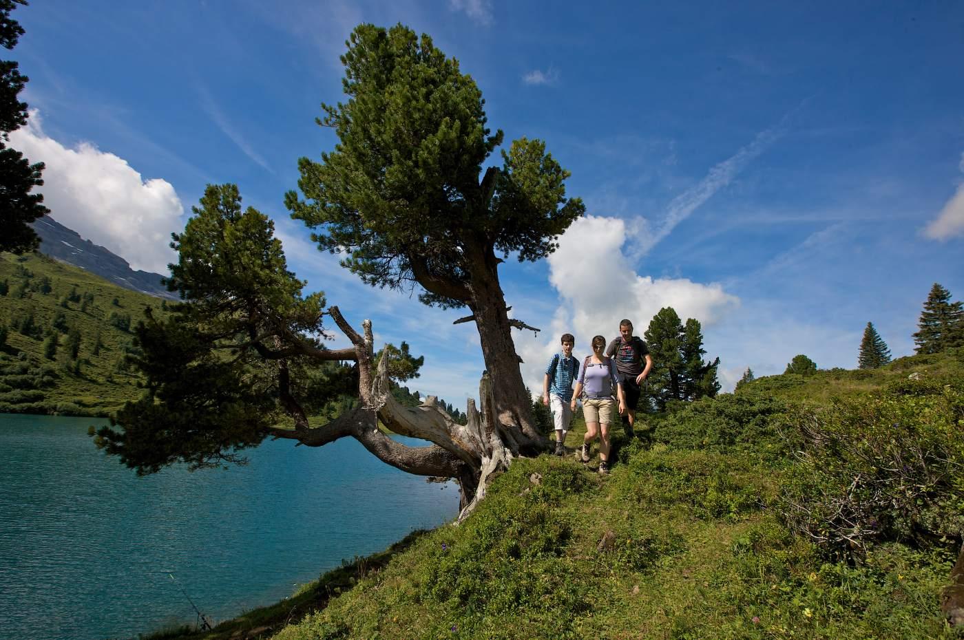Vier Seen Wanderung