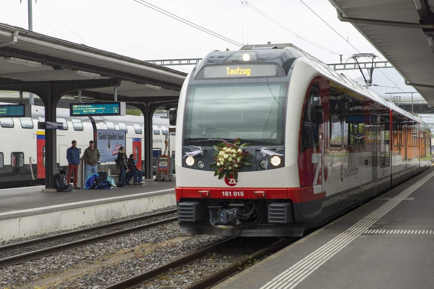 Generalversammlung und Zugstaufe in Interlaken
