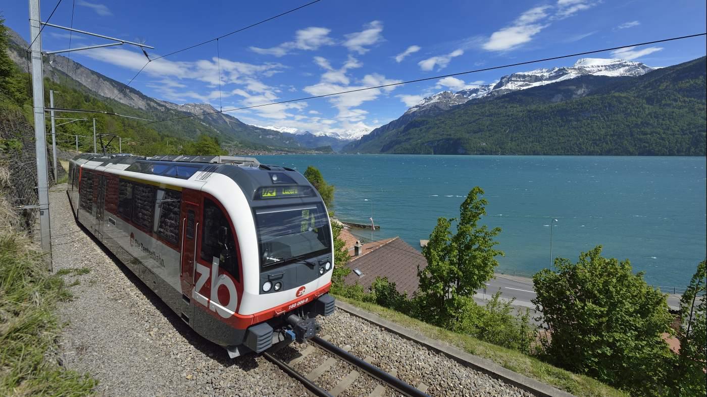 Luzern nach Interlaken