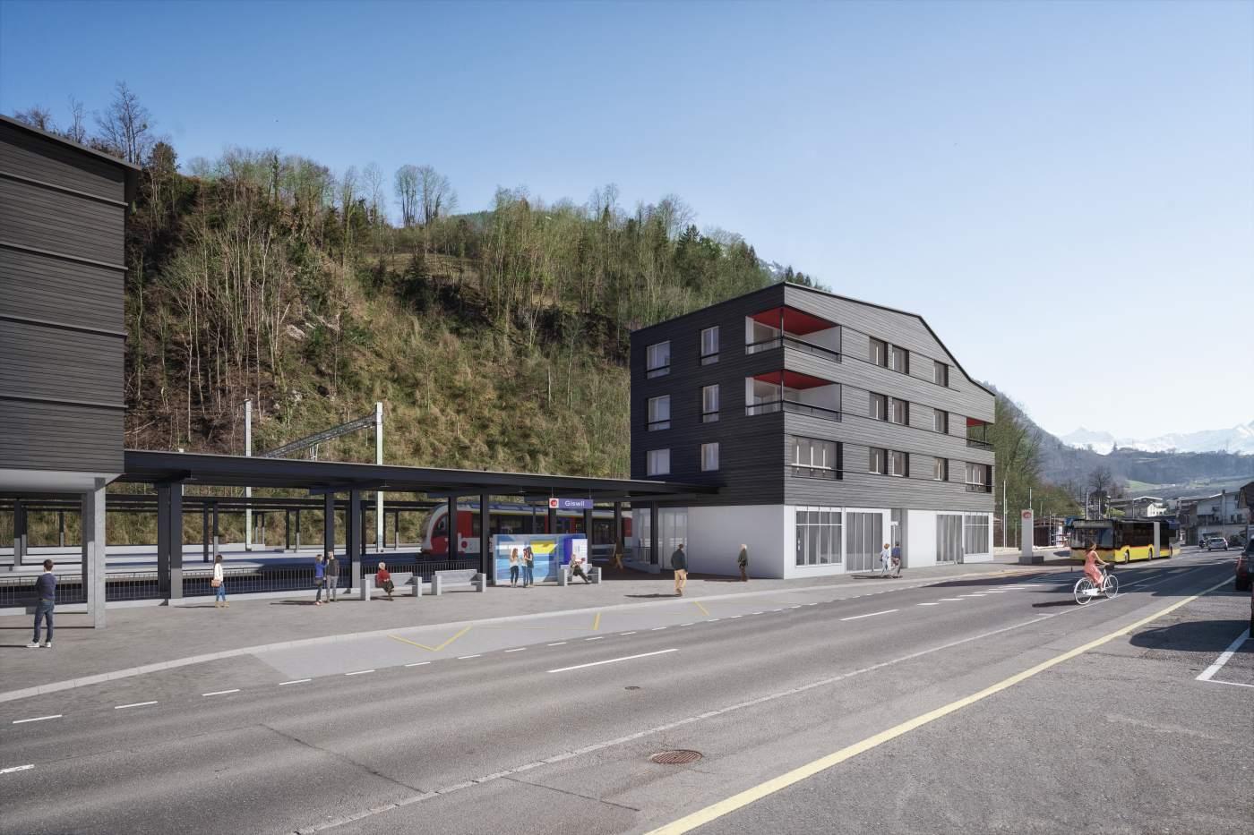 Attraktiver Wohnraum in Giswil.
