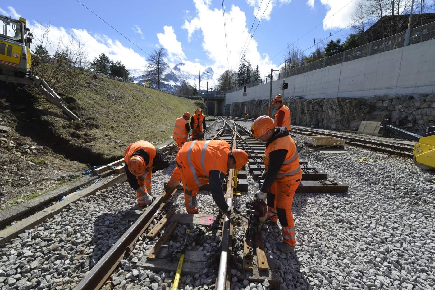 Ausbau, Erneuerung und Sanierung zwischen Luzern und Alpnachstad.