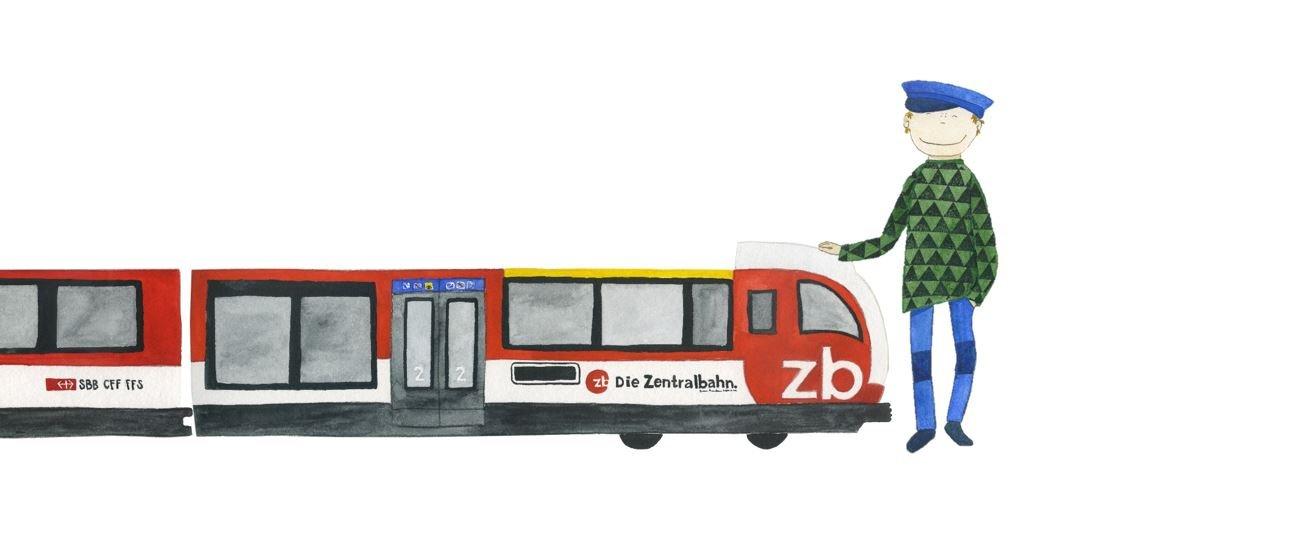 KleinFINK - Oli wird Lokführer