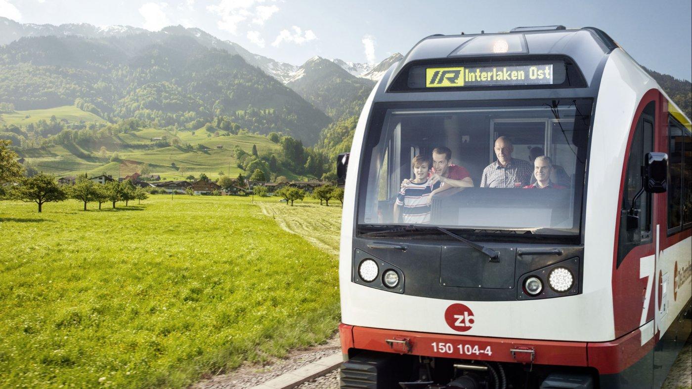 Perspektivenwechsel. Führerstandsfahrt Zentralbahn