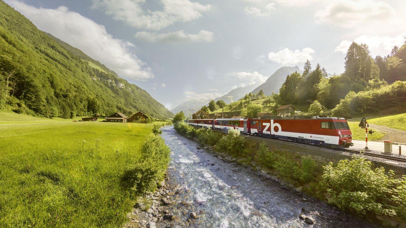 Luzern-Engelberg Express.