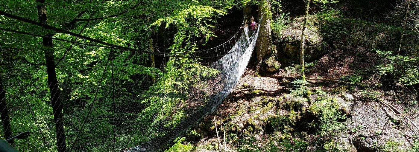 Hängebrücke Sachsler Höhenweg